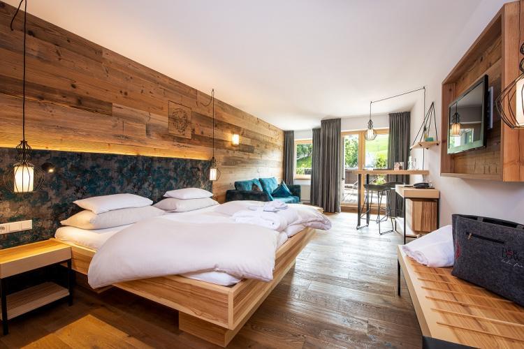 LEBE FREI Hotel der Löwe - Entspannung über den Dächern von Leogang | Salzburg